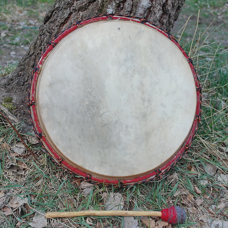 shamanic drums